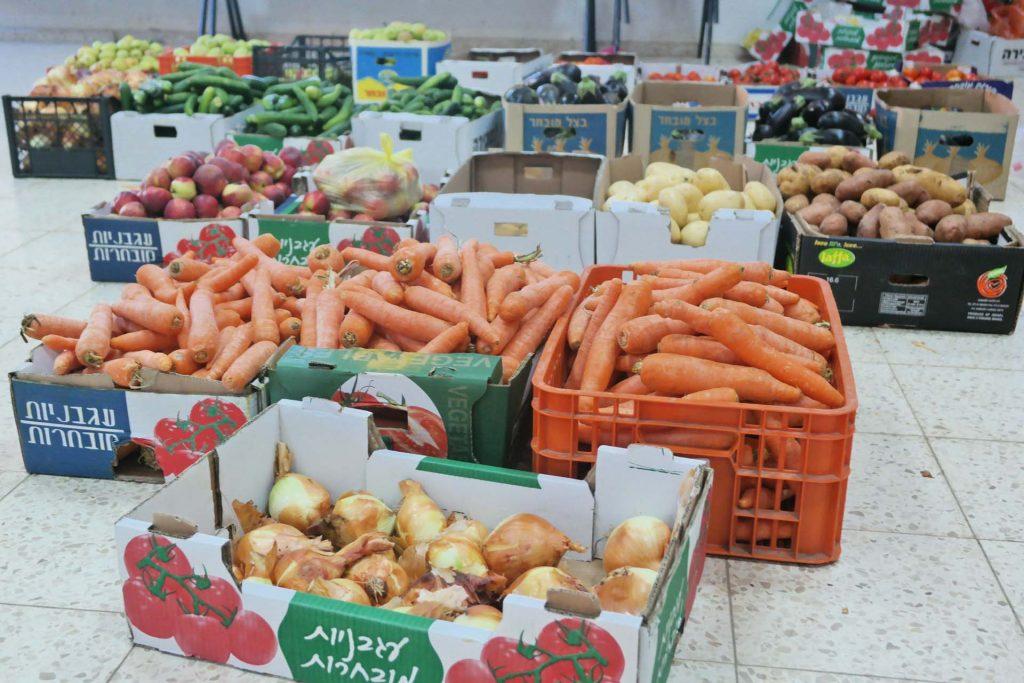 ירקות ממוינים למשלוח